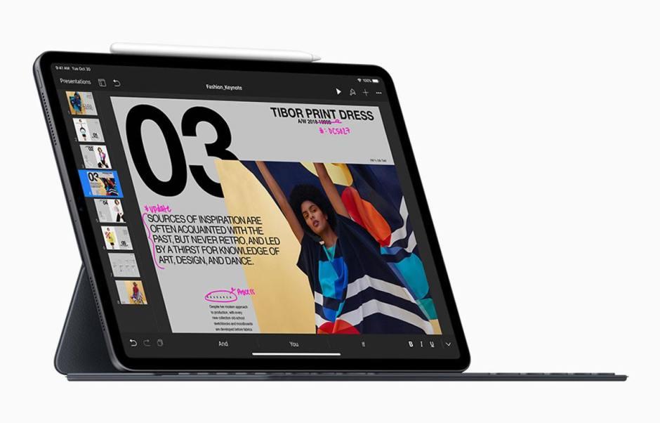 La nouvelle mouture 2018 de l'iPad Pro.