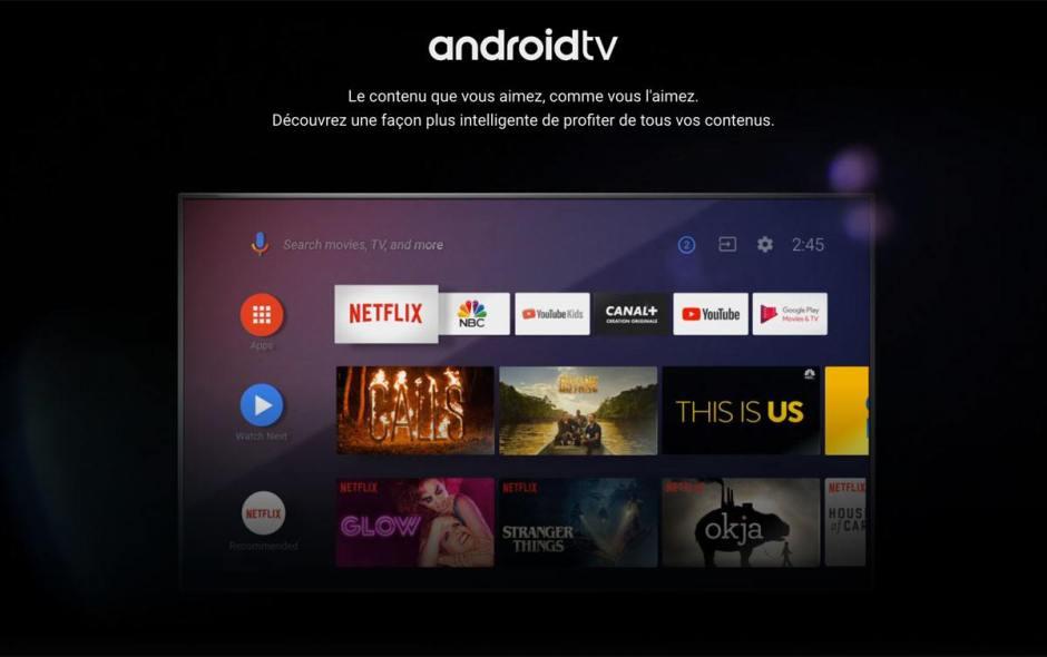 Android TV gagne du terrain...