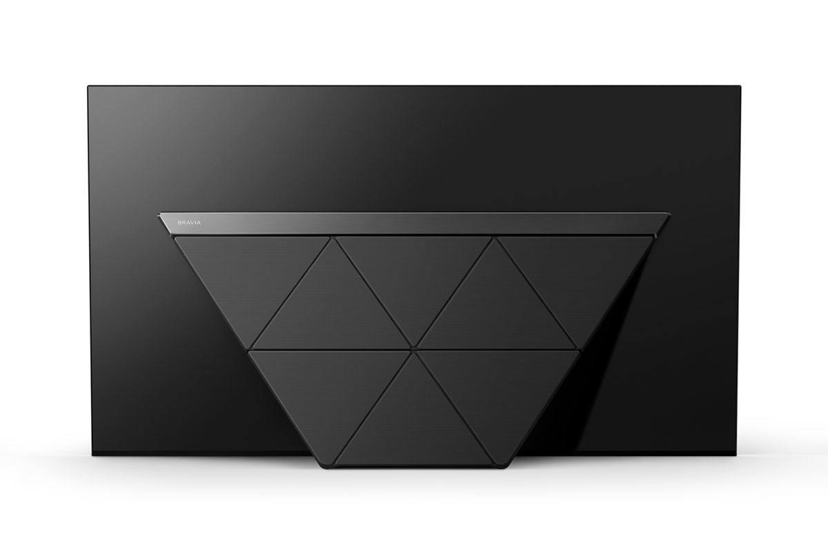 Le dos du Sony Bravia Master Series AF9 OLED.