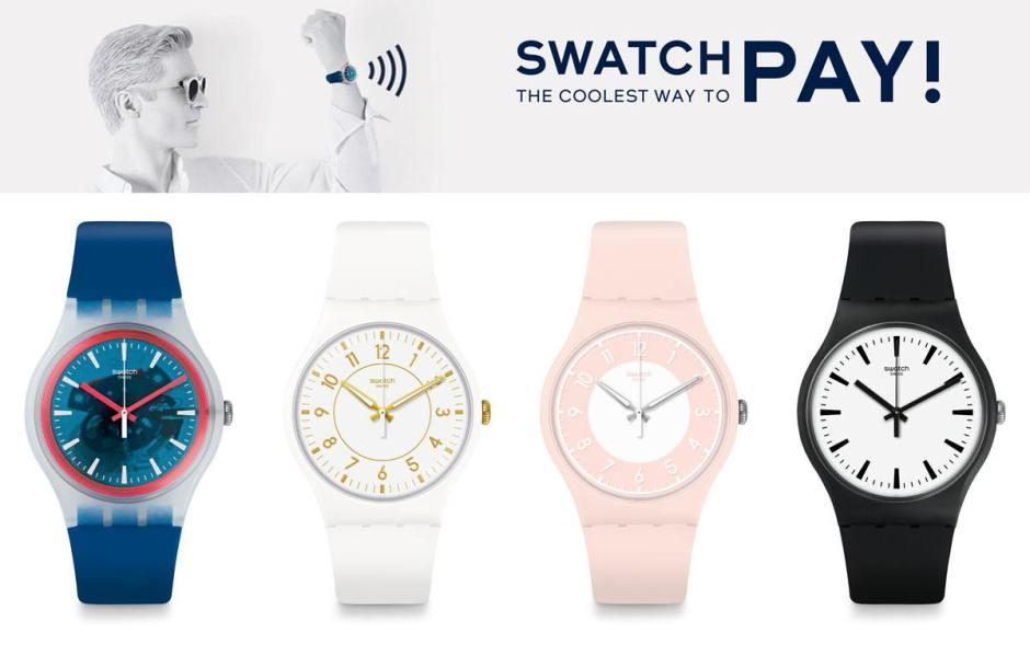 SwatchPay: après la Chine, la Suisse.