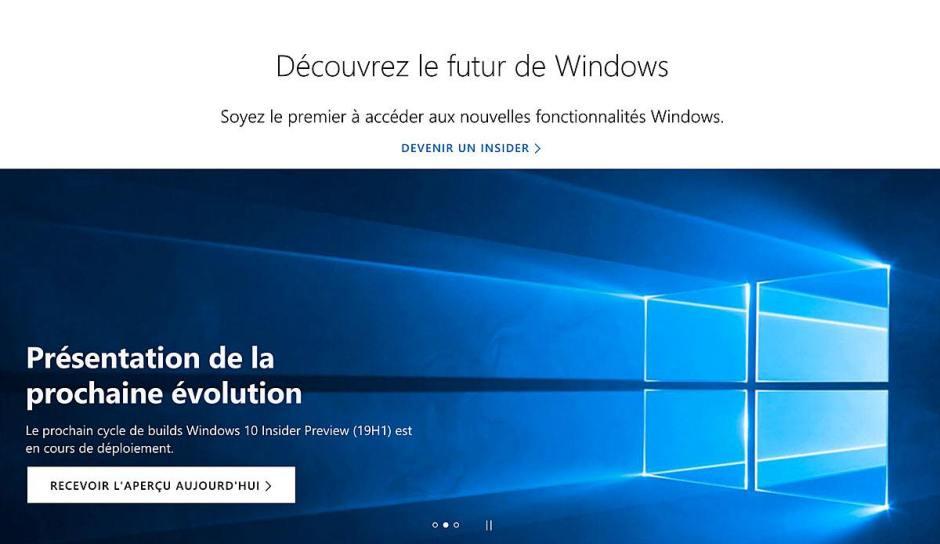 La mise à jour de printemps de Windows 10 est en marche...