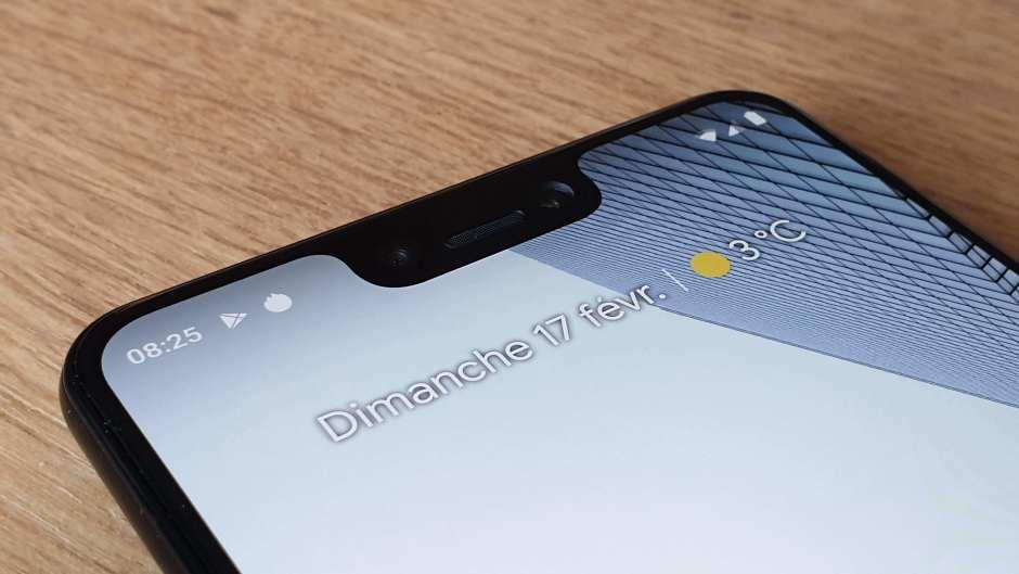 Pixel 3 XL: Google copie l'encoche discutable d'Apple.