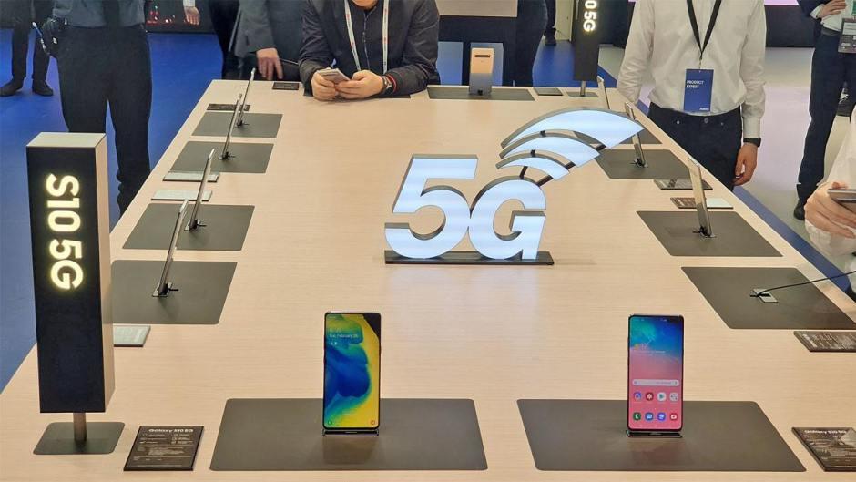 Le Samsung Galaxy S10 5G, compatible Wi-Fi 6.