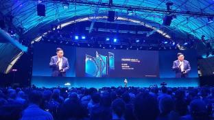 Le pliable Huawei Mate X à quelque 2300 francs.