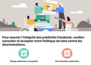 Médias sociaux et publicité: cibler sur Facebook oui, discriminer, non!