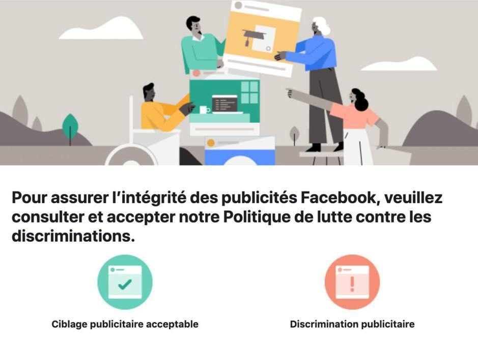 Facebook soigne sa publicité.