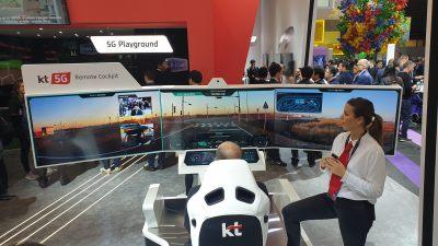 Piloter à distance avec la 5G.