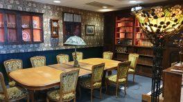 Infomaniak: des salles de conférences très cosy...