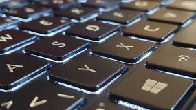 Asus Zenbook 14 : un clavier rétroéclairé agréable.
