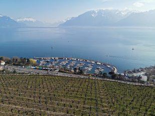 Huawei P30 Pro: balade entre Lausanne et Vevey. Photo: Aurélien.