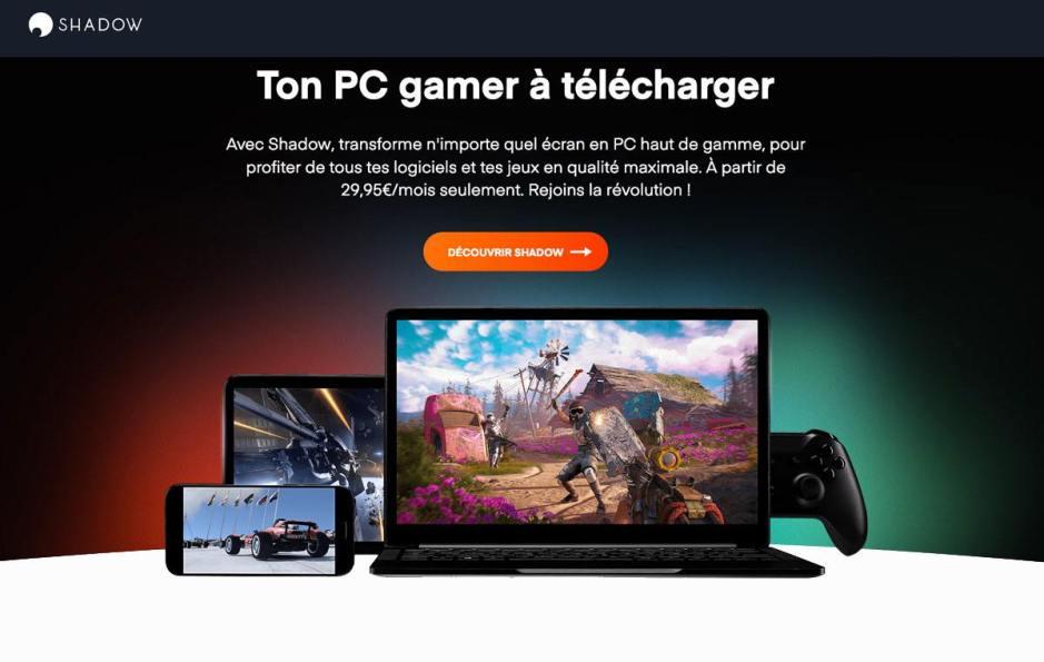 Shadow, le PC gamer à télécharger, est disponible en Suisse.
