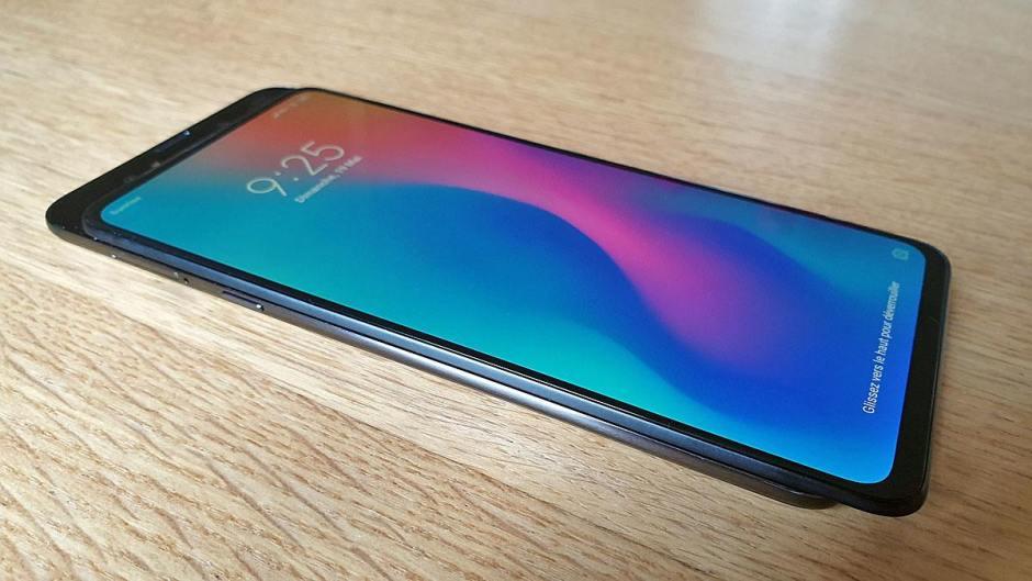 Le magnifique Xiaomi Mi Mix 3 5G.