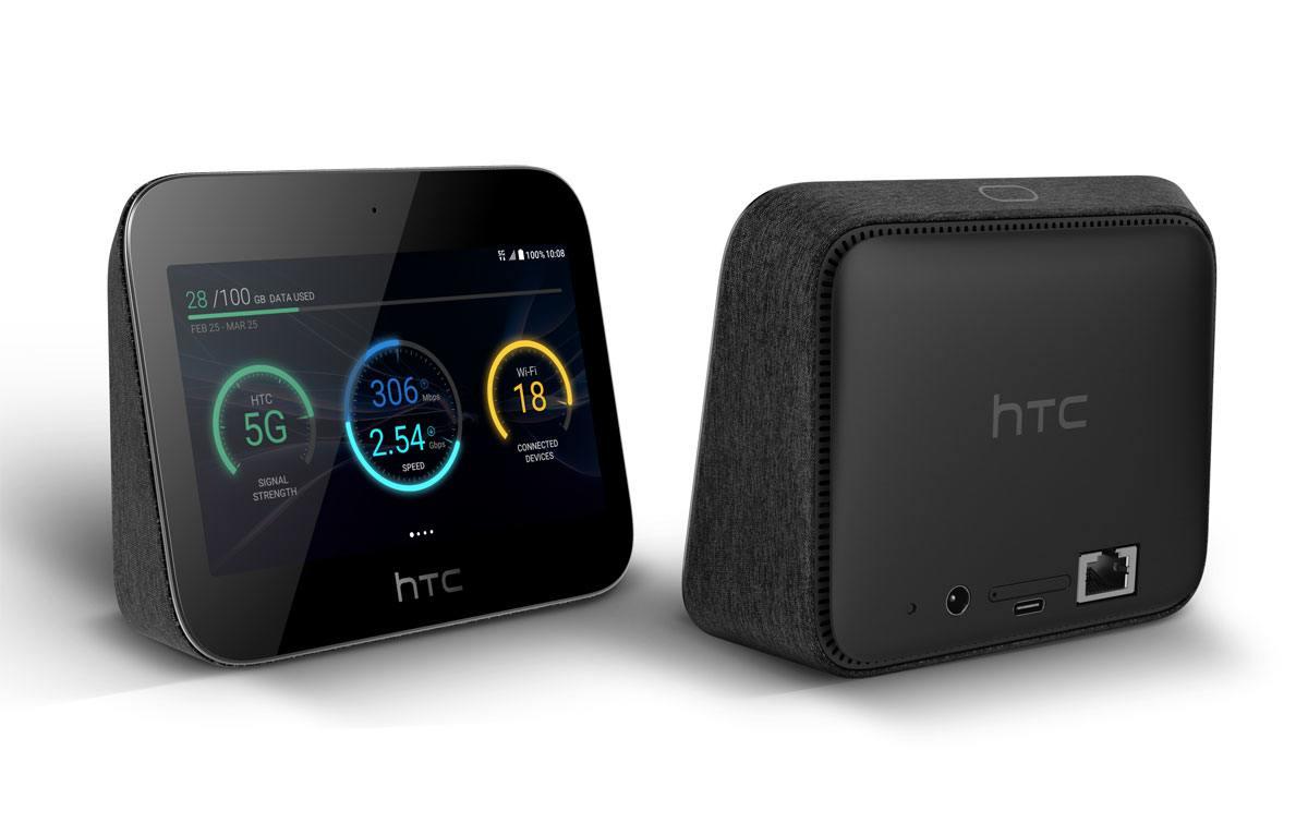 Le HTC Hub 5G de Sunrise.