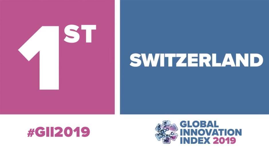 La Suisse brille une nouvelle fois au classement de l'innovation de l'OMPI.