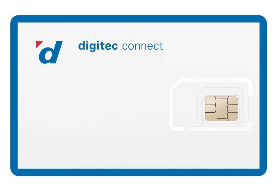 Digitec Connect sur le réseau de Sunrise.