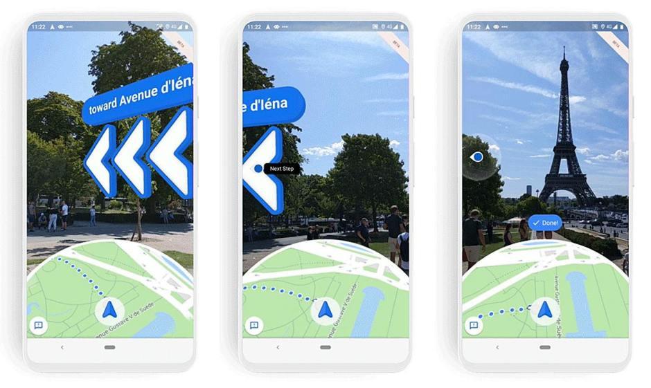 Avec le futur Google Maps, vous partirez toujours dans le bon sens!