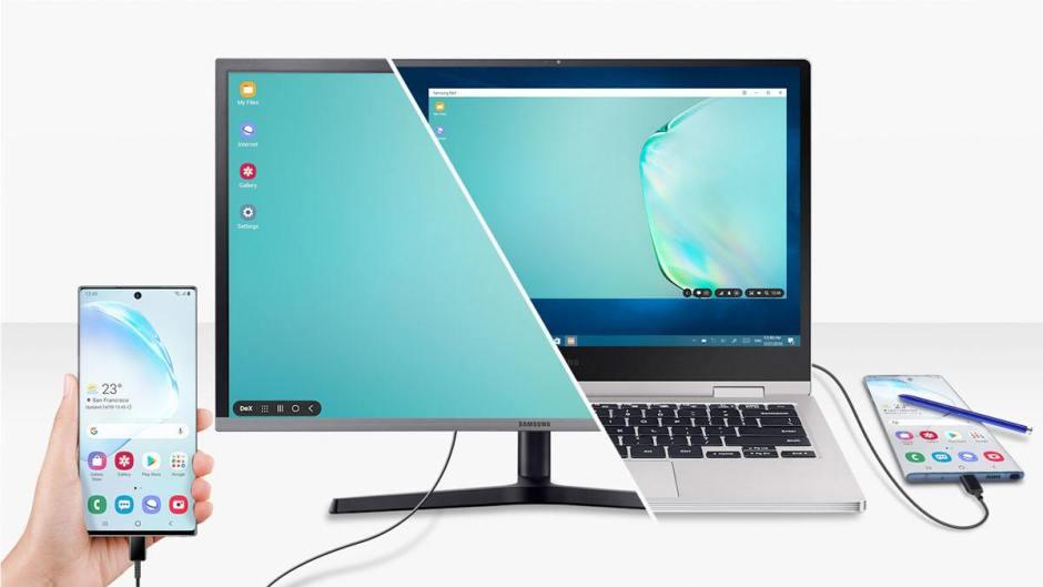 Samsung DeX dé barque sur Windows et MacOS.