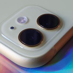 La double optique de l'iPhone 11 d'Apple.