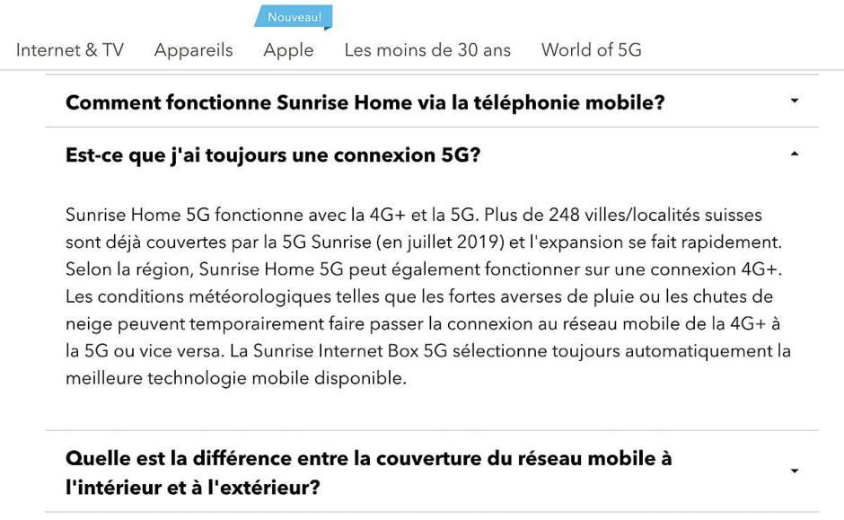 La 5G est très sensible aux perturbations, notamment.