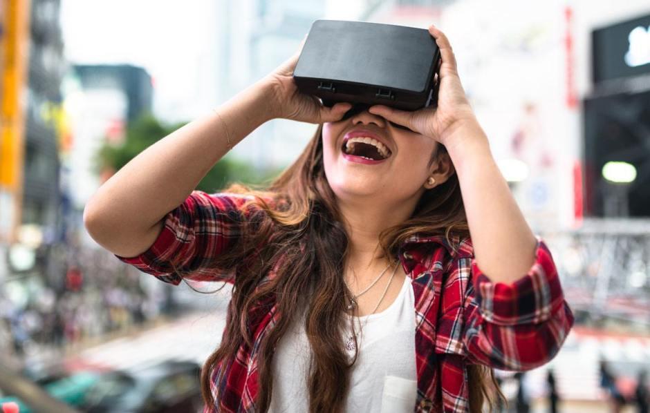 Migros lance des cours de langue boostés à la réalité virtuelle! Image Getty par Migros.