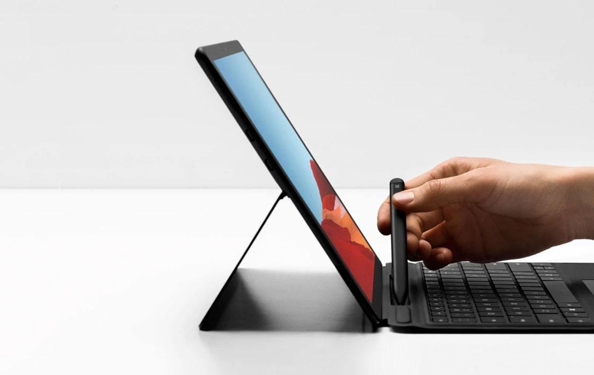 La Microsoft Surface Pro X transcendée .
