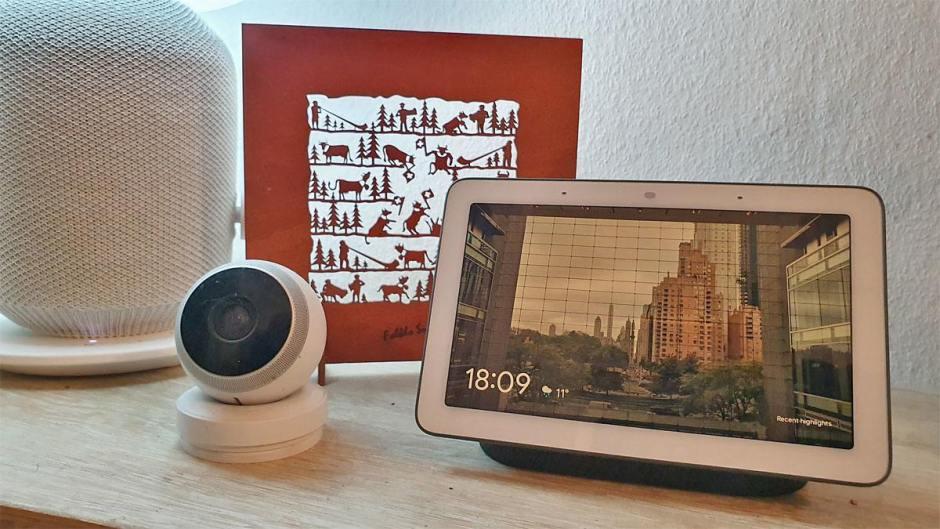 Google Nest Hub permet de piloter sa Logi Circle, son Sonos ou ses lampes Ikea.