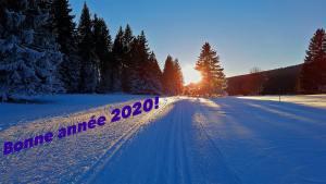 Bonne année2020 et meilleurs vœux connectés à tous!