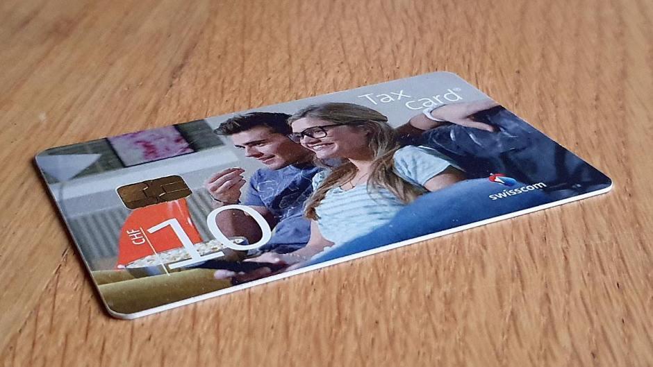 La Taxcard de Swisscom désormais absolète.