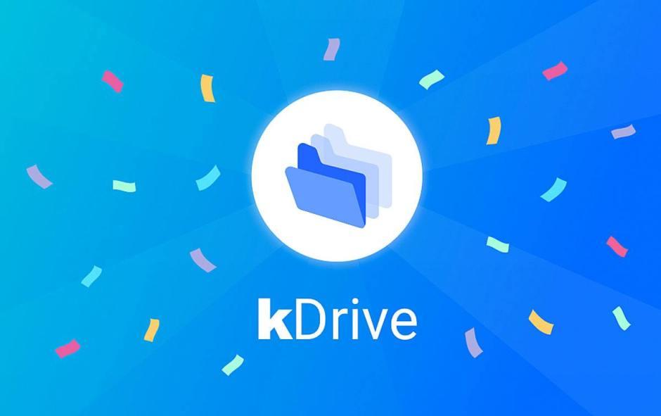 kDrive d'Infomaniak pour se passer des services de Google ou Dropbox?