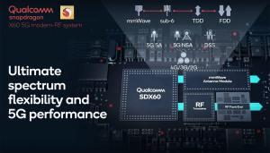 Qualcomm présente le modem 5G du futur: le X60 à 7,5 Gigabits/sec!