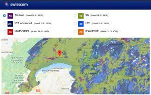 A la recherche de la 5G Wide de Swisscom avec le Samsung Galaxy S20 Ultra 5G!