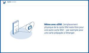 Digitec devient le premier opérateur virtuel à proposer l'eSIM!