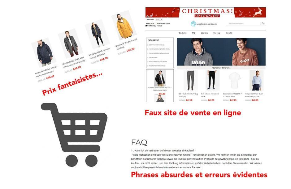 Plus d'infos sur /www.cybercrimepolice.ch.