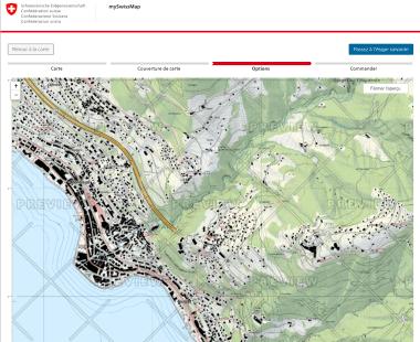 Avec mySwissMap, tout le monde peut commander une carte de la Suisse avec le découpage de son choix.