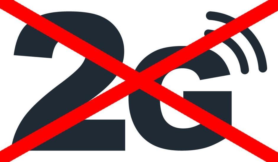 Après plus de 25 ans de bons et loyaux services, la 2G va disparaître.