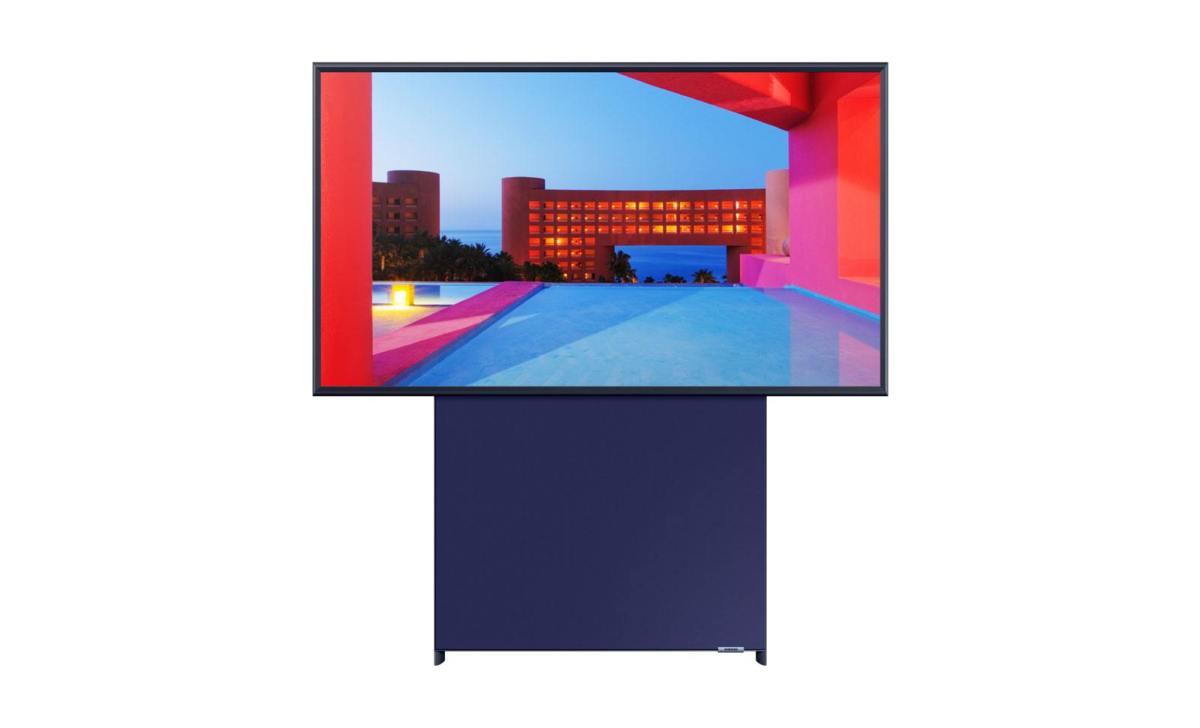 The Sero, la TV de Samsung taillée pour le mode portrait... en mode paysage!