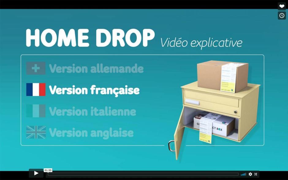 Home Drop d'UPC: la vidéo explicative.