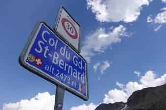 Sony Vlog ZV-1: le test au Col du Grand St-Bernard.