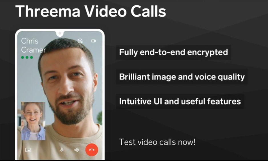 L'application Threema passe à l a vidéo sécurisée!