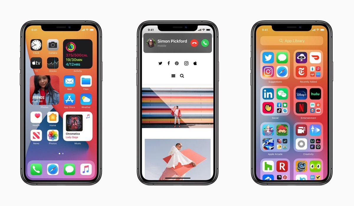 Apple iOS 14: comme un air d'Android ou de Windows Mobile... Dix ans après...