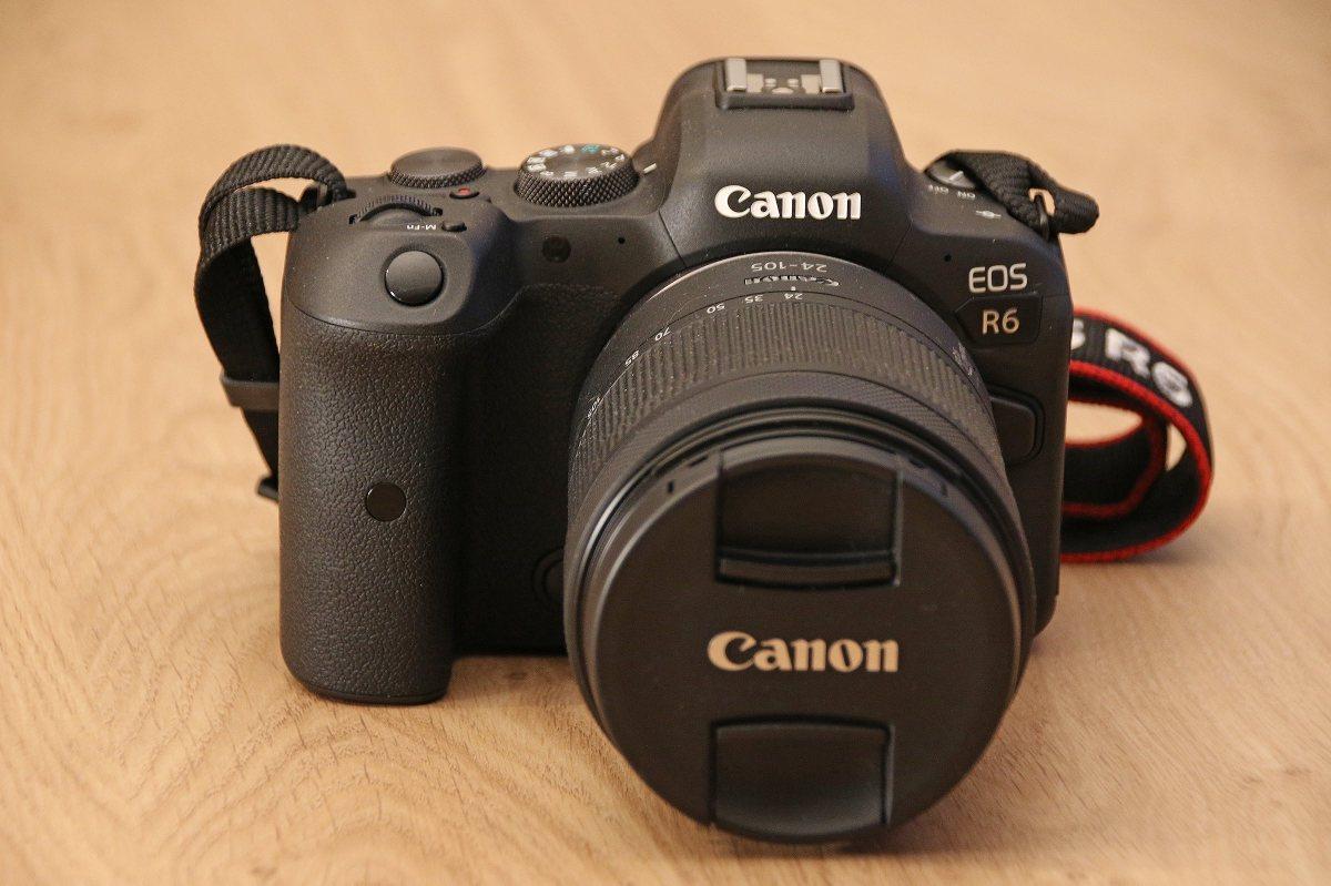 L'excellent Canon EOS R6.