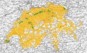 Bientôt 4800antennes5G en Suisse, couverte par Salt, Sunrise et Swisscom!