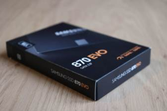 Samsung SSD 870 EVO: 560/530 Mo/s.