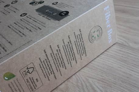 Salt Fibre box x6: un emballage plus léger, plus vert.