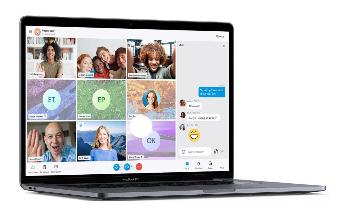 Skype debería tener un cambio de imagen en 2021.
