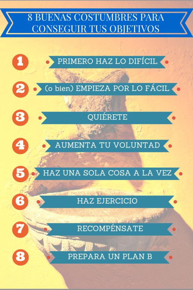 8 BUENAS COSTUMBRES