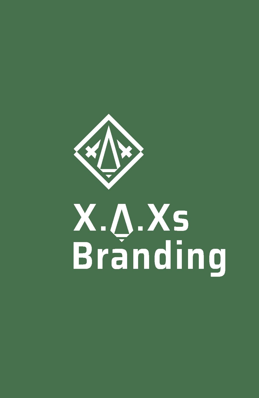 XAXs branding heading