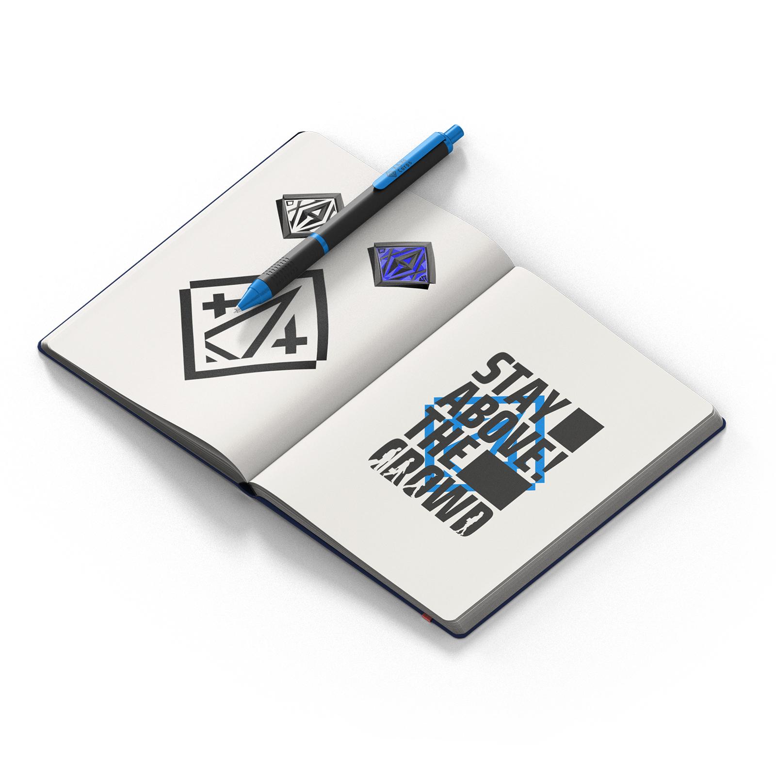 XAXs Web mockup sketch book