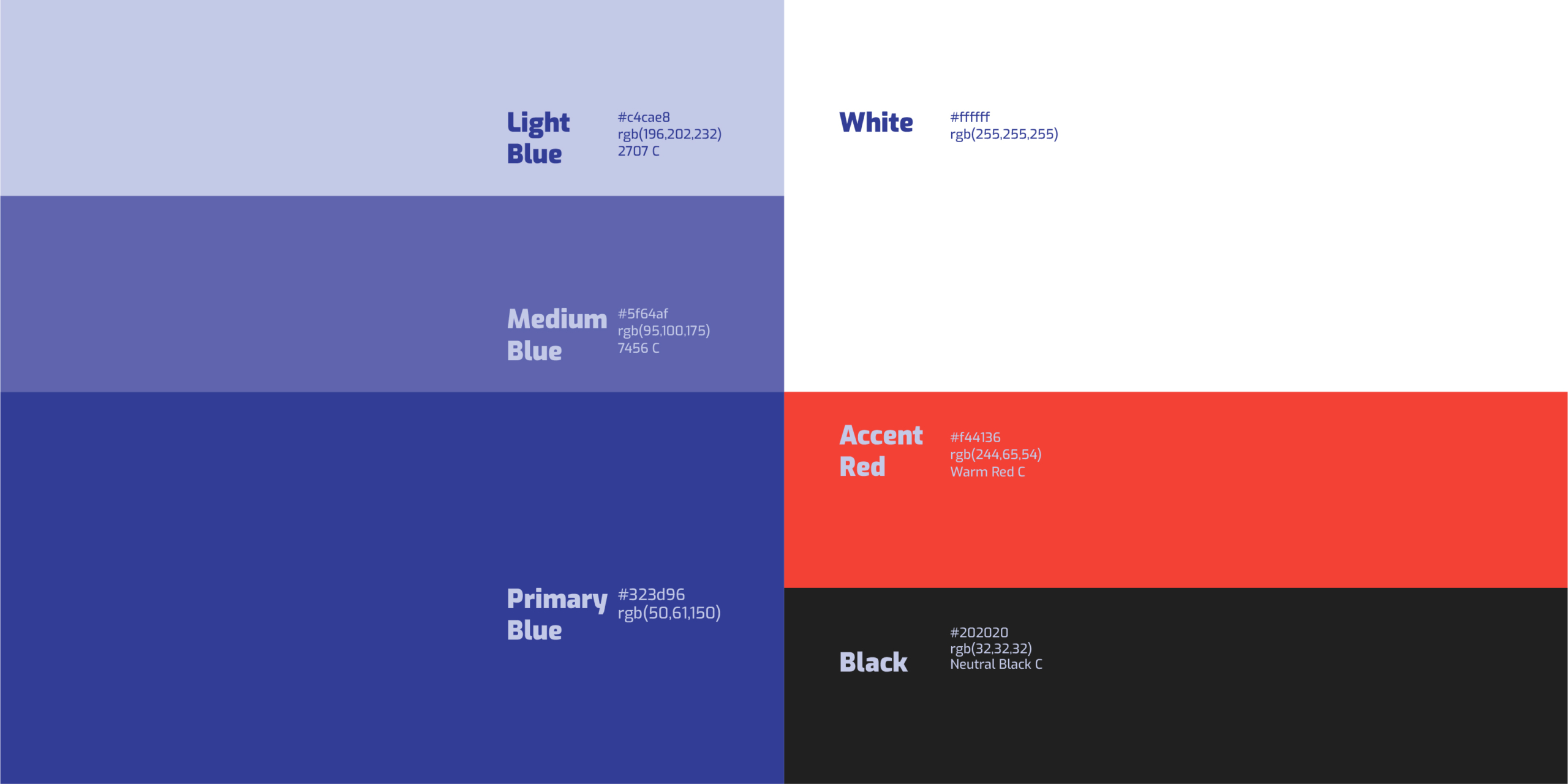 XAXs AutoRLD indigo blue red white colour palette