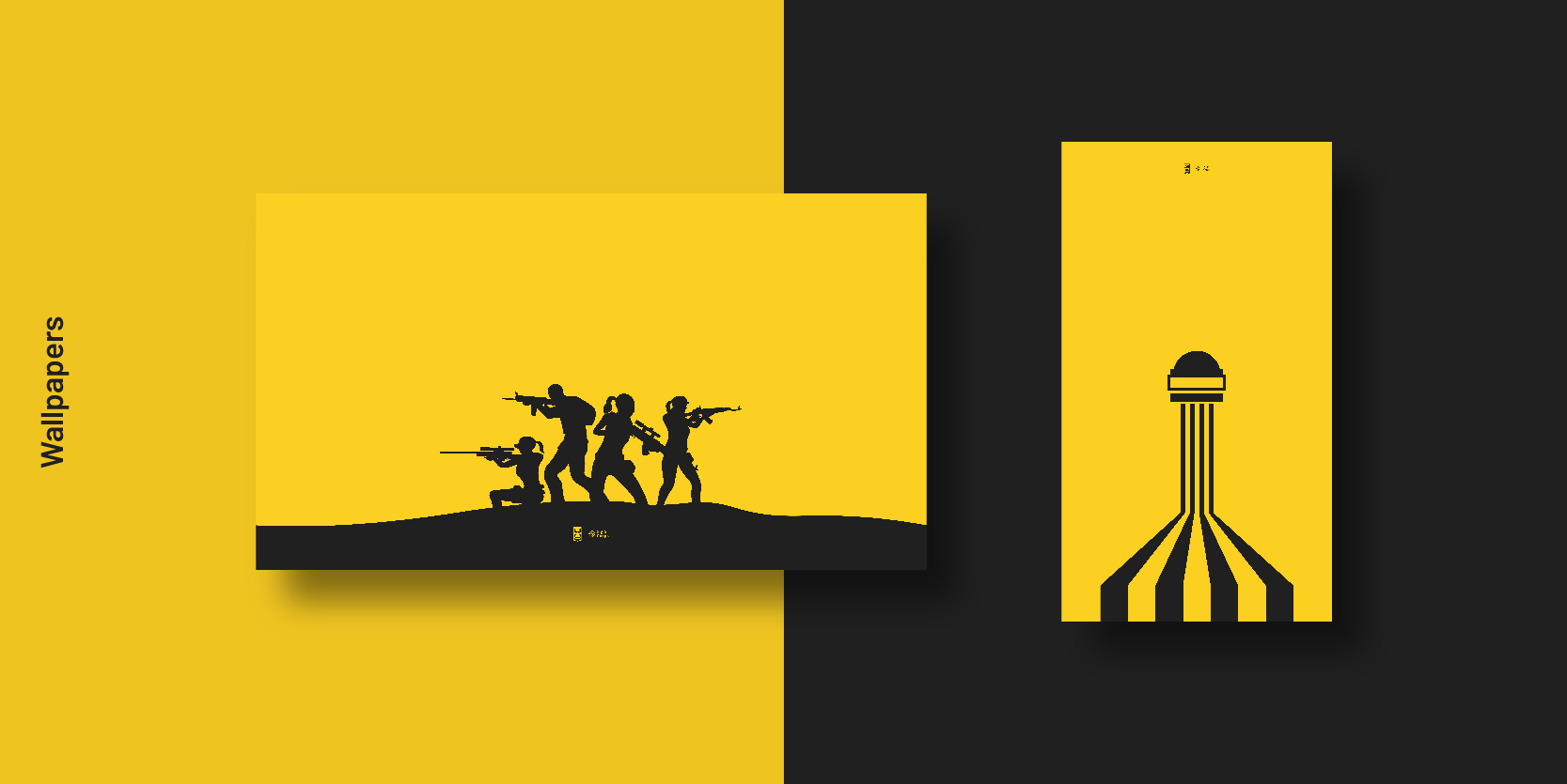 PMCL free pubg minimal hd Wallpapers